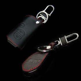 Кожаный чехол для ключей Субару