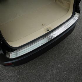 Защитная накладка на кромку заднего бампера Тойота Хайлендер