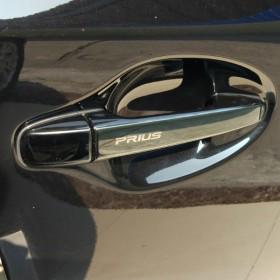 Накладки на ручки дверей Тойота Приус 30