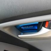 Накладки под ручки открывания дверей Prius