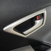 Обрамления салонных ручек открывания дверей Prius