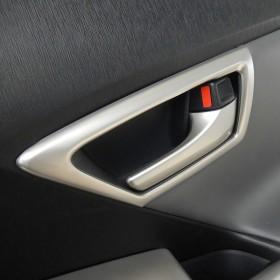 Накладки вокруг ручек открывания дверей Тойота Приус 30