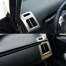 Накладки на боковые дефлекторы в салоне Тойота Приус 30