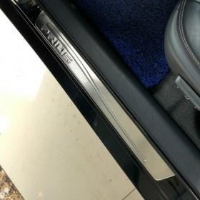 Накладки на внешние дверные пороги Тойота Приус 30