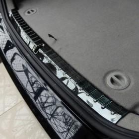 Накладка на внутренний порог багажника Тойота Приус 30