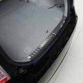 Накладка на порог багажника Prius