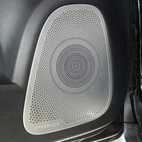 Накладки на динамики дверей Тойота Приус 30