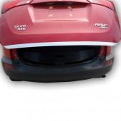 Накладка на низ двери багажника RAV4 (2 варианта)