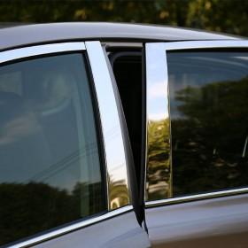 Хромированные накладки на окна дверей Тойота рав4