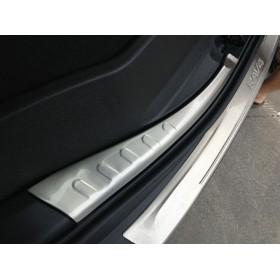 Накладки на порог багажника Тойота рав4