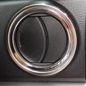 Хром накладки на боковые отверстия вентиляции Тойота Тундра 2