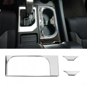 Хром накладки на подстаканники Тойота Тундра 2