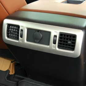 Хром накладка на задние воздуховоды Тойота Тундра 2