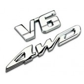 Комплект стикеров на кузов 4WD V6