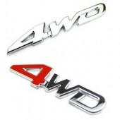 Шильдик на кузов 4WD