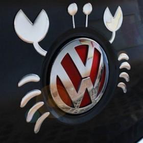 Наклейки для эмблемы на багажнике в стиле Краб