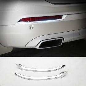 Хром накладки на задние отражатели Вольво XC90