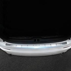 Накладка на кромку заднего бампера Вольво XC90