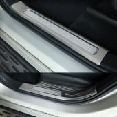 Накладки на внутренние пороги дверей XC90