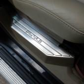 Накладки на задние пороги дверей XC90