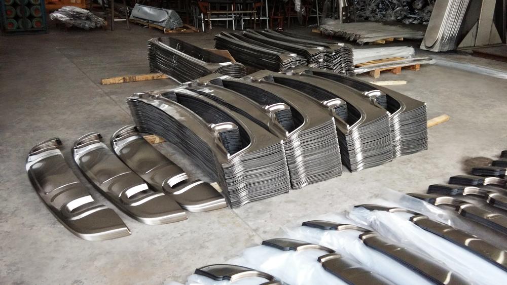 iEAST.ru накладки из металла завод в Китае