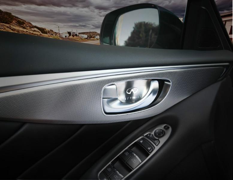 4pcs interior inner door handle bowl cover decoration trim - 2010 mazda 3 interior door handle ...