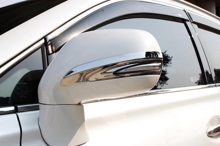 Chrome mirrors anti-rub decoration trim for Lexus RX270 ...