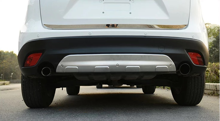 Stainless Steel Front Amp Rear Bumper Protector Plate For Mazda Cx 5 Cx5 2012 2016 Ebay