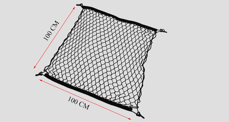 car rear trunk envelope floor rack cargo net storage luggage for volvo xc90
